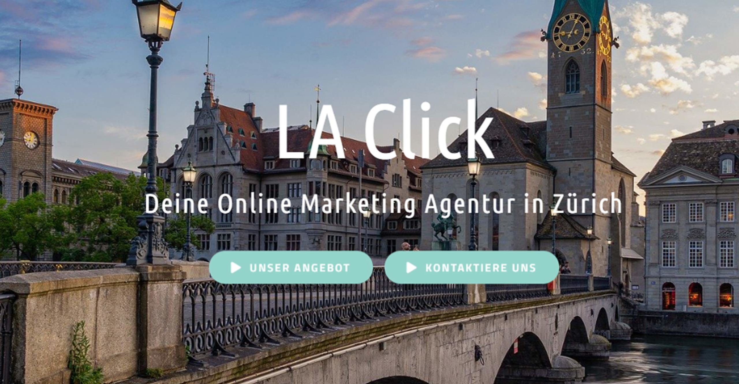 LA Click Website Call to Action